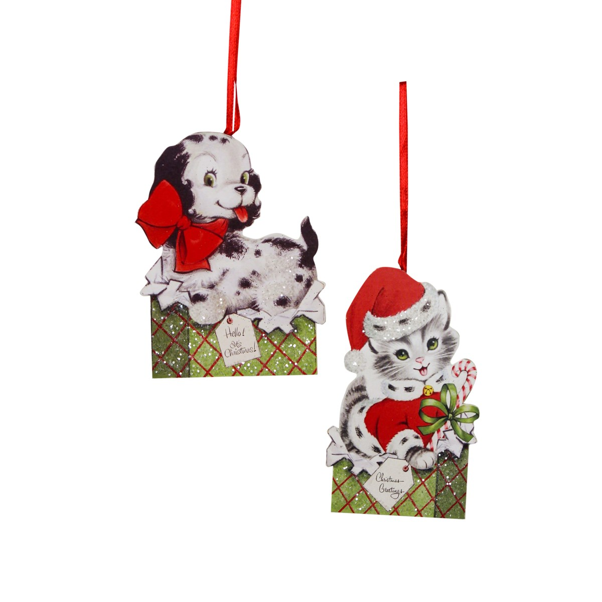 Furry Friends Dummy Board Ornament 2A