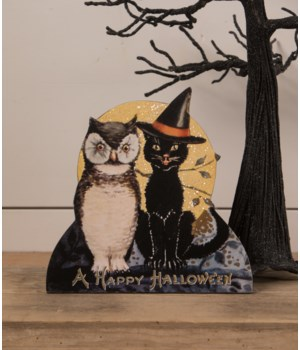 Black Cat and Owl Friends Dummy Board