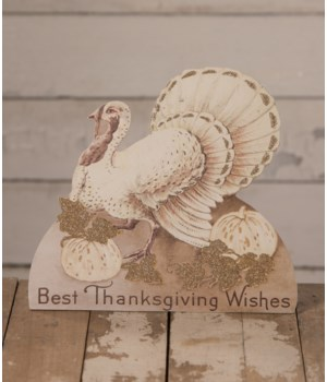 Romantic Fall Turkey Dummy Board
