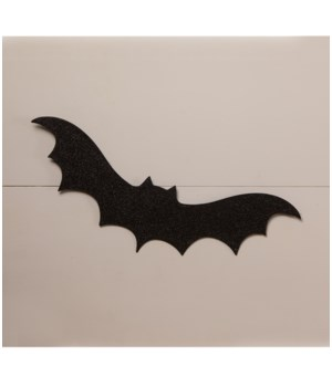 Large Black Bat Silhouette