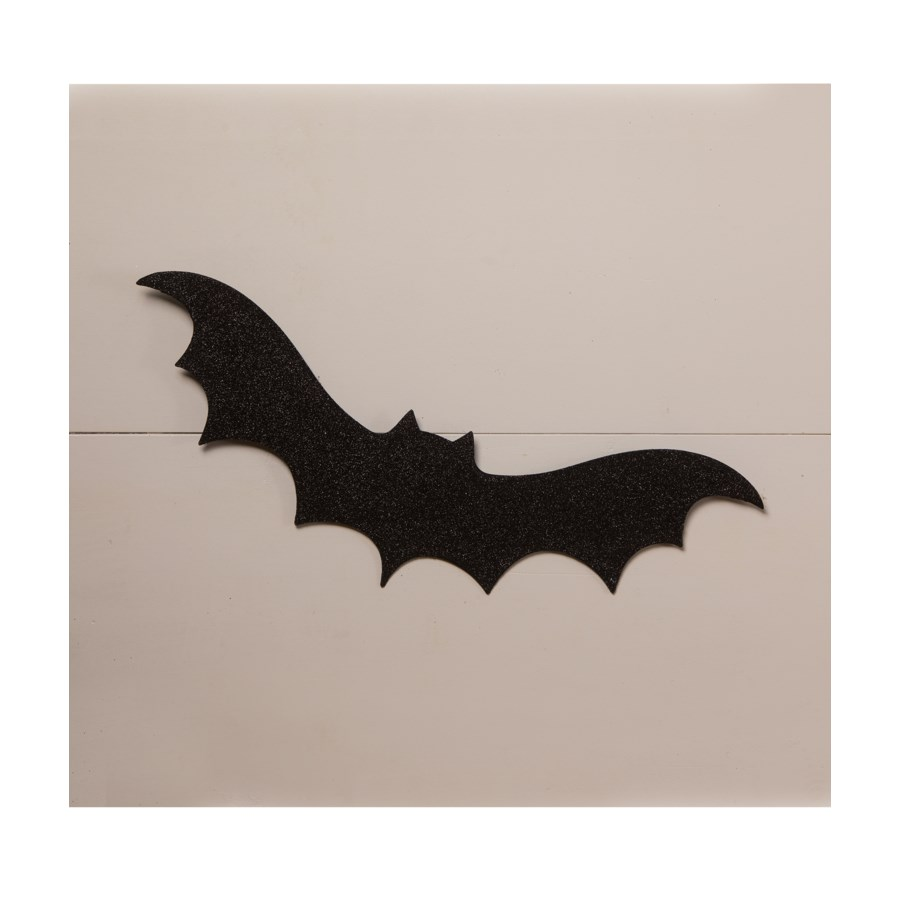 Large Black Bat Silhouette