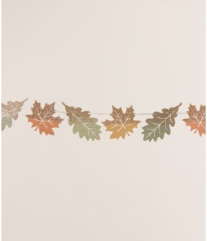 Elegant Fall Leaf Garland