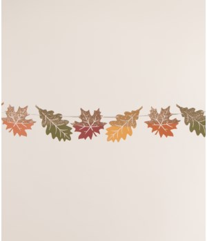 Fall Harvest Leaf Garland