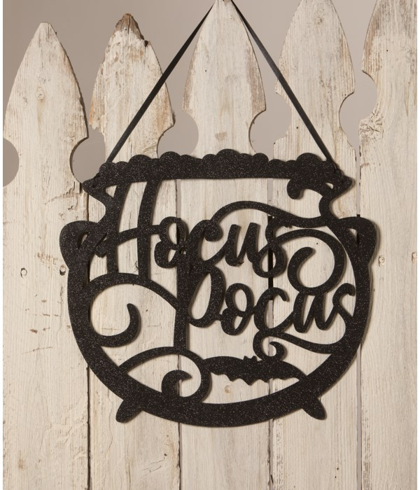 Hocus Pocus Cauldron Wall Hanging