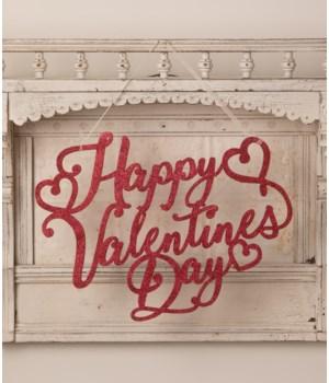 Happy Valentine's Day Sign