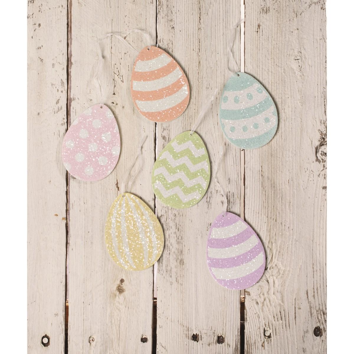 Spring Rainbow Egg Ornament S6