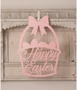 Happy Easter Basket Sign
