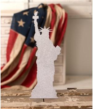 Lady Liberty Silhouette
