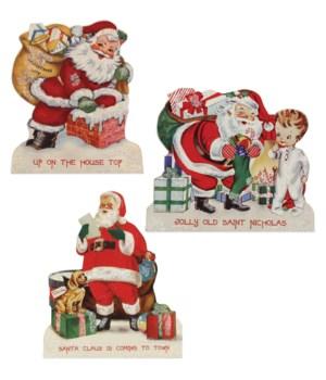 Retro Christmas Dummy Board 3A