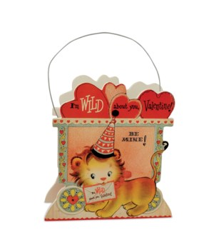 Wild About You Lion Bucket