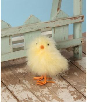Fluffy Yellow Chick Large