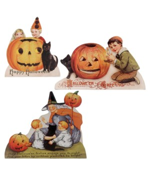 Happy Halloween Dummy Board 3/A