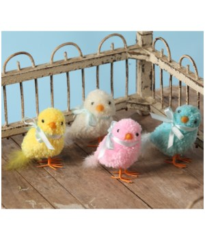 Pastel Yarn Chick Small 4/A