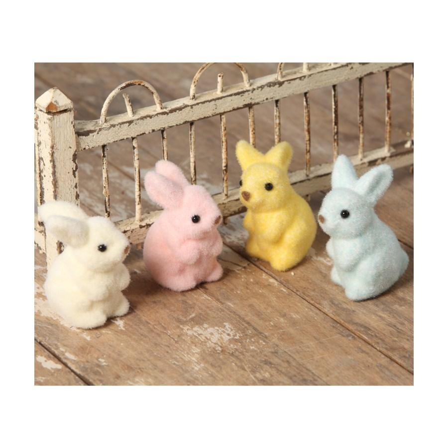 Pastel Fuzzy Bunny 4/A