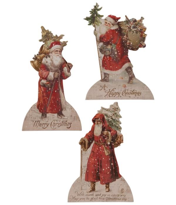 Vintage Santa Dummy Board 3A
