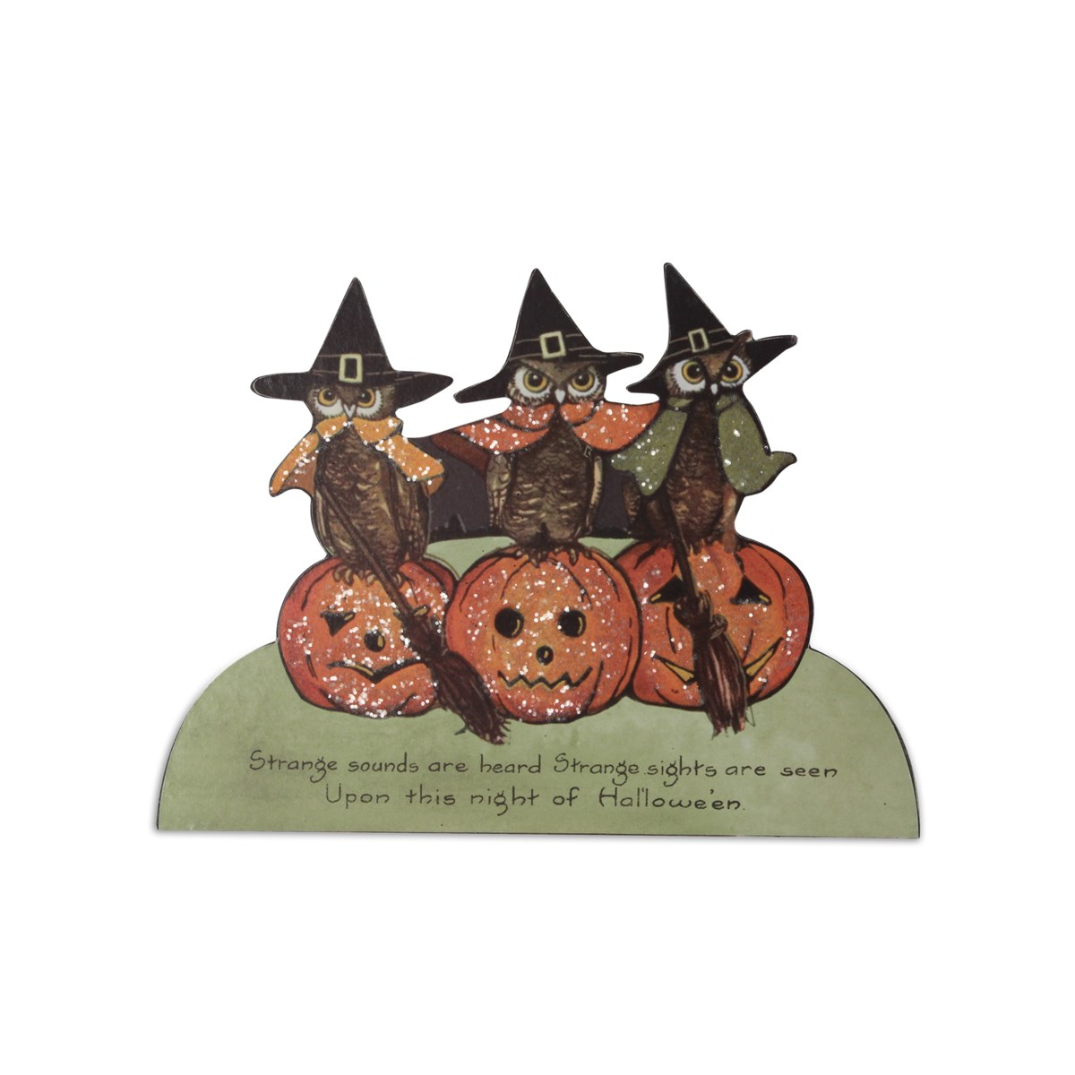 Halloween Owl Dummy Board