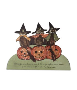 Halloween Owl Dummy Board