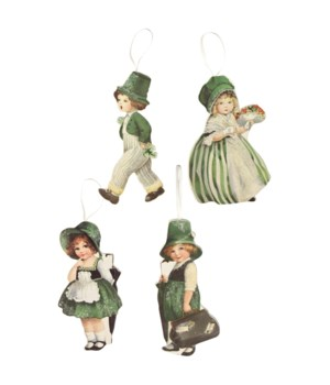 LUCK O' IRISH DUMMY BOARD ORNAMENT 4/A