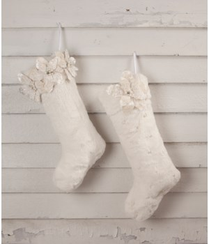 Winter White Stocking 2/A