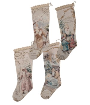 Pastel Stocking 4/A