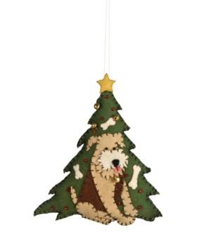 Good Boy Applique Ornament