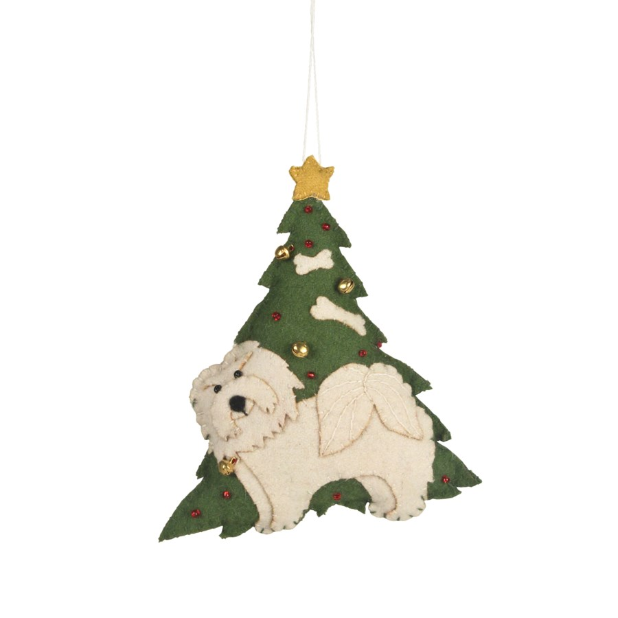 Good Girl Applique Ornament