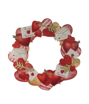 Valentine's Dummy Board Wreath