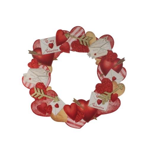 Valentine's Dummy Board Wreath
