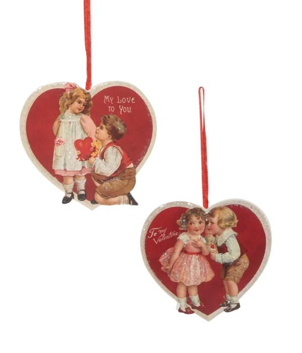 Valentine Children Dummy Board Ornament 2A