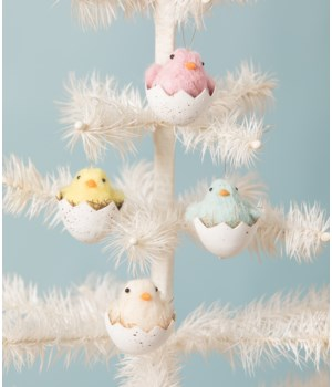 Chick in Egg Ornament 4/A
