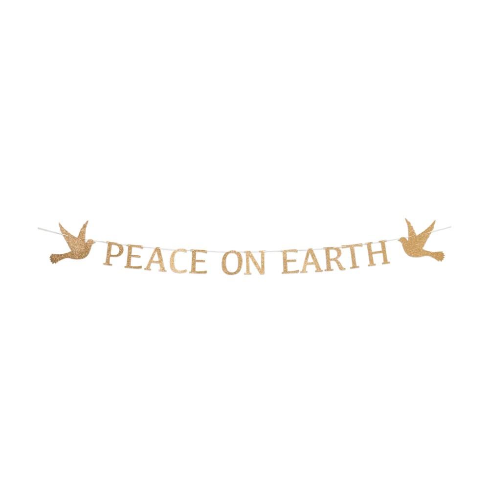 Peace on Earth Garland