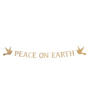 Peace on Earth Garland