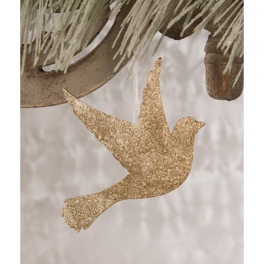 Peace on Earth Dove Ornament