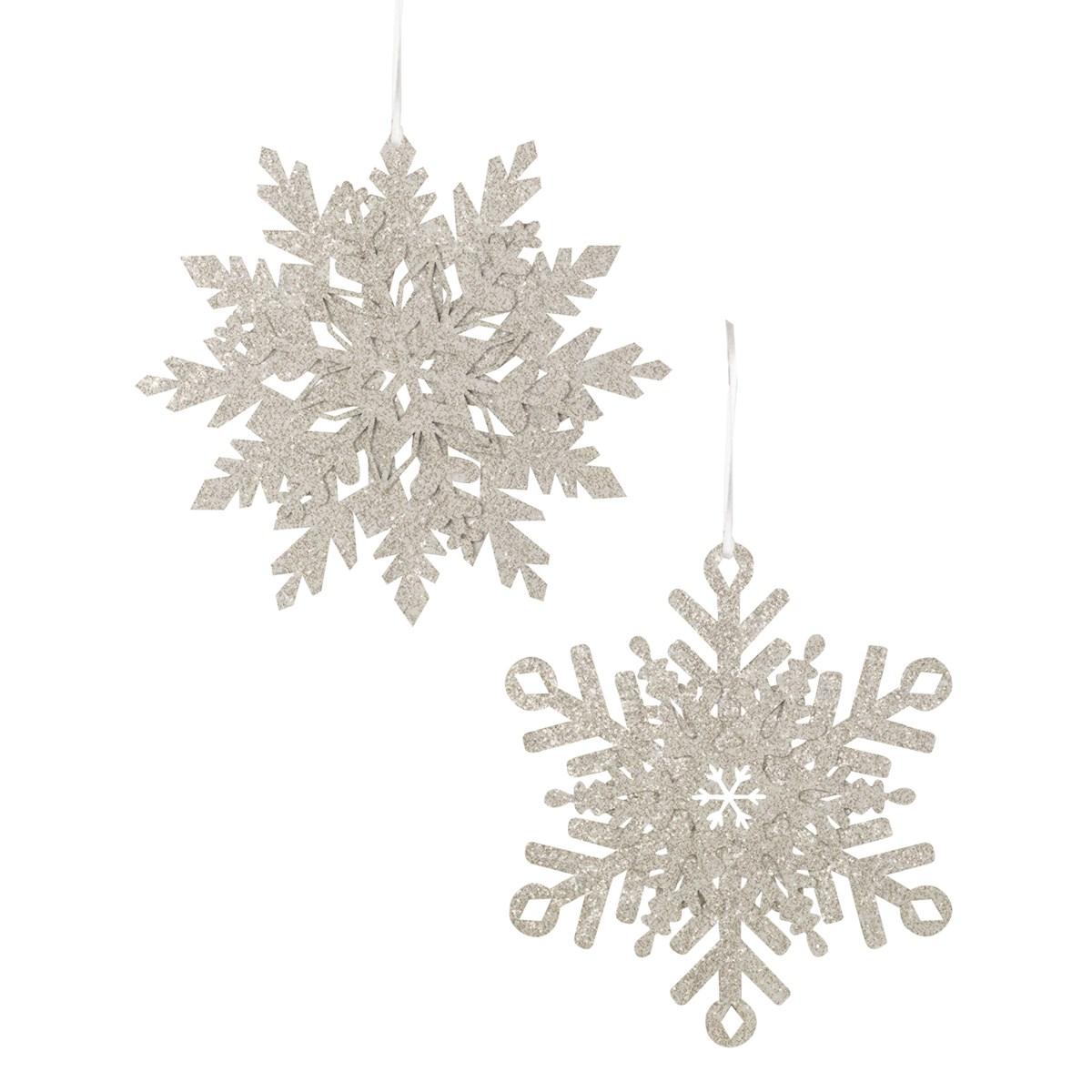 Platinum Snowflake Large 2A