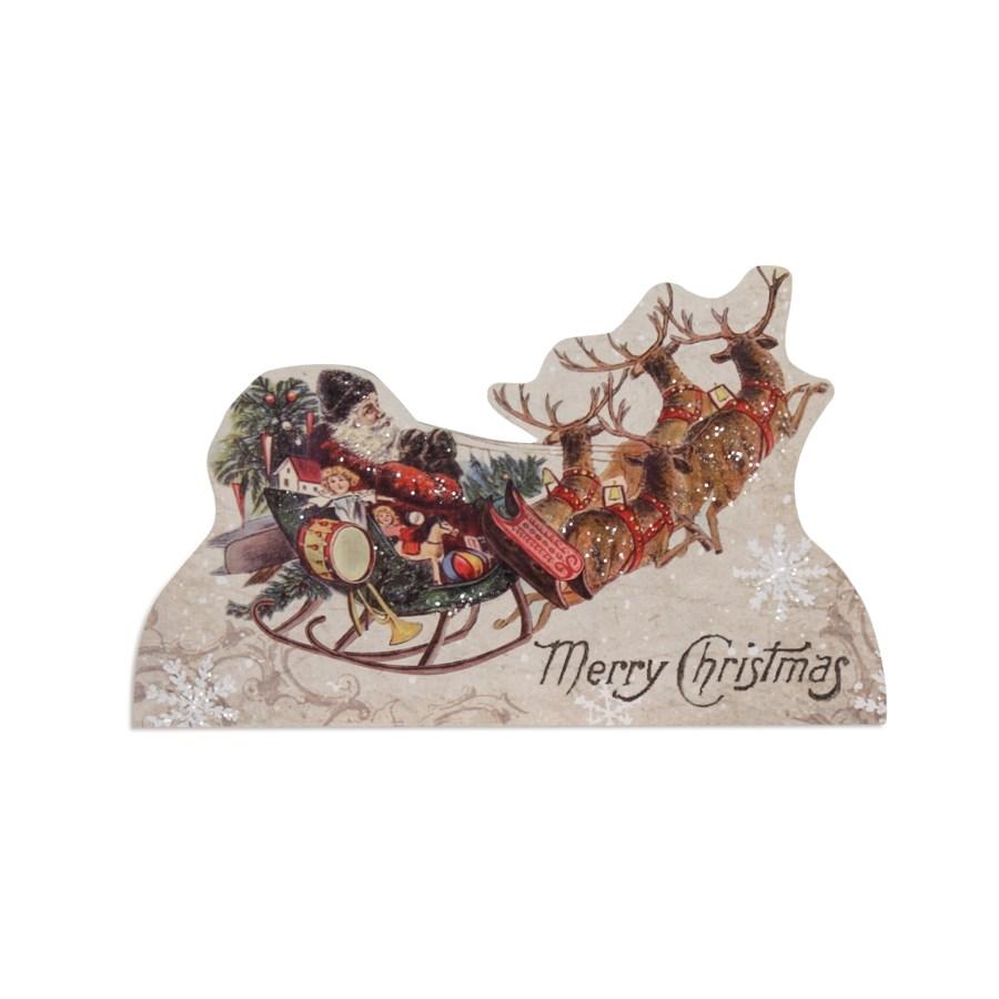 Santa's Sleigh Ride Dummy Board