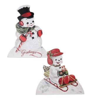 Playful Snowman Dummy Board 2A