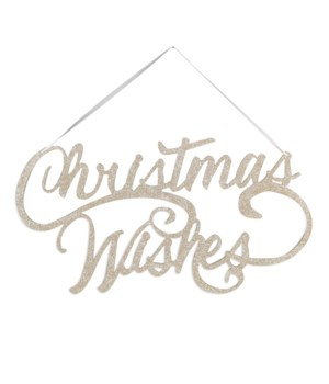 Christmas Wishes Sign