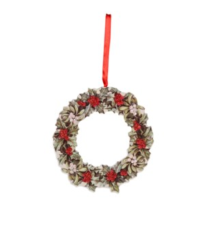 Christmas Wreath Dummy Board Ornament