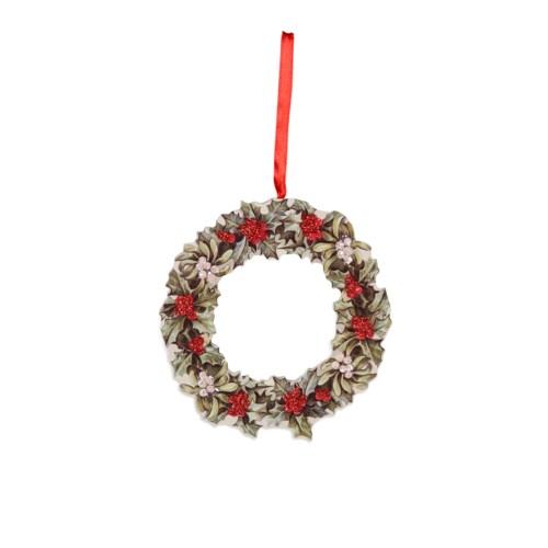 Christmas Wreath Dummy Board Ornament