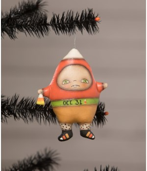 Candy Corn Carl Ornament