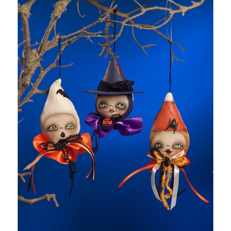 Ghoulish Halloween Mini Ornament 3/A