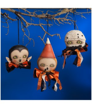 Ghoulish Halloween Ornament 3/A