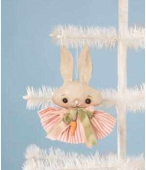 Spring Fling Bunny Ornament