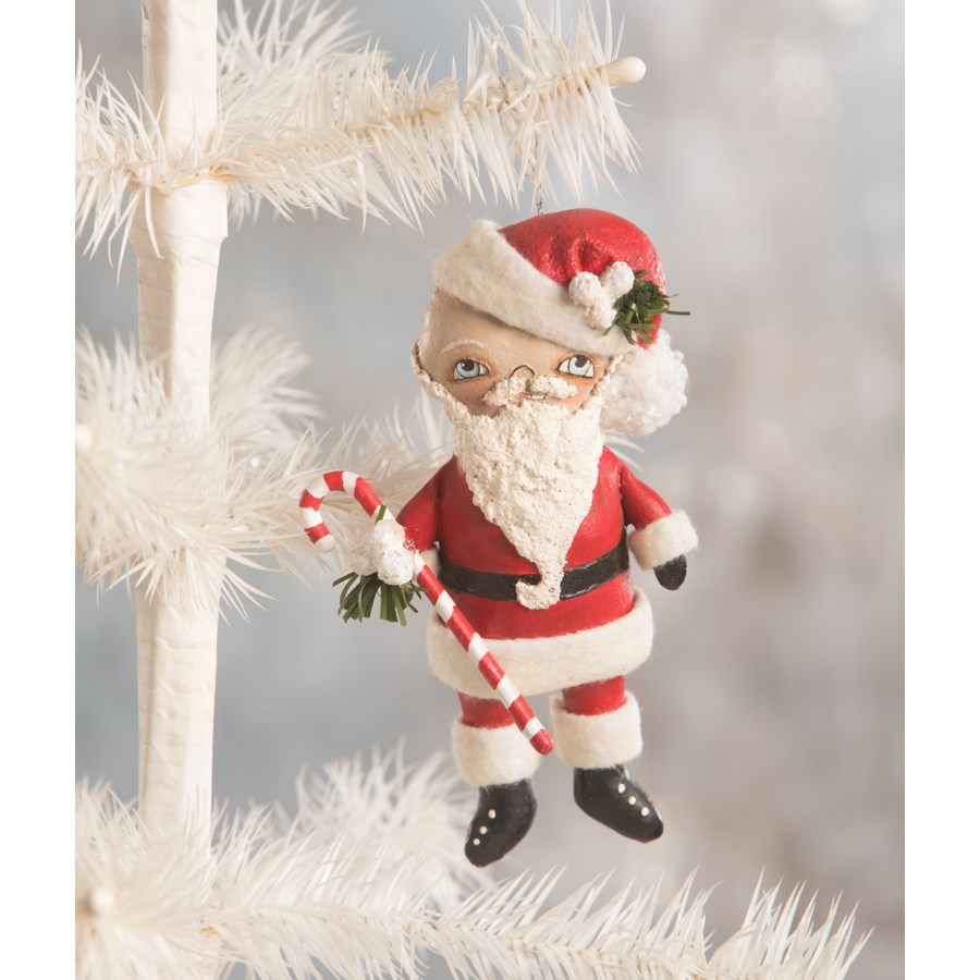 Little Santa Ornament