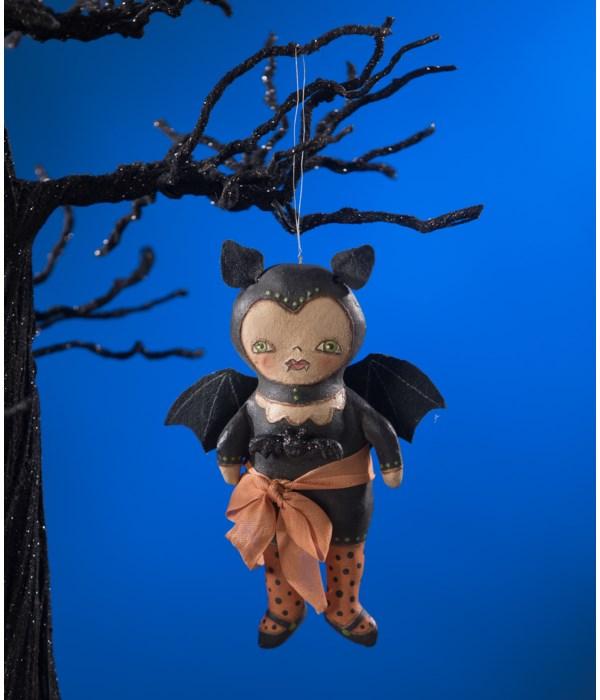 Batty Dress Up Ornament