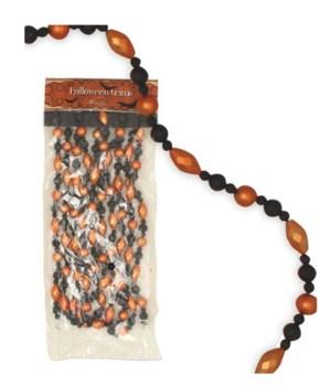 Traditional Halloween Bead Garland