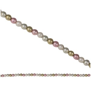 Pastel and Pearl Bead Garland