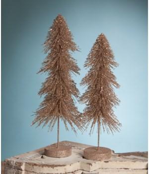 Elegant Downswept Sisal Trees S/2