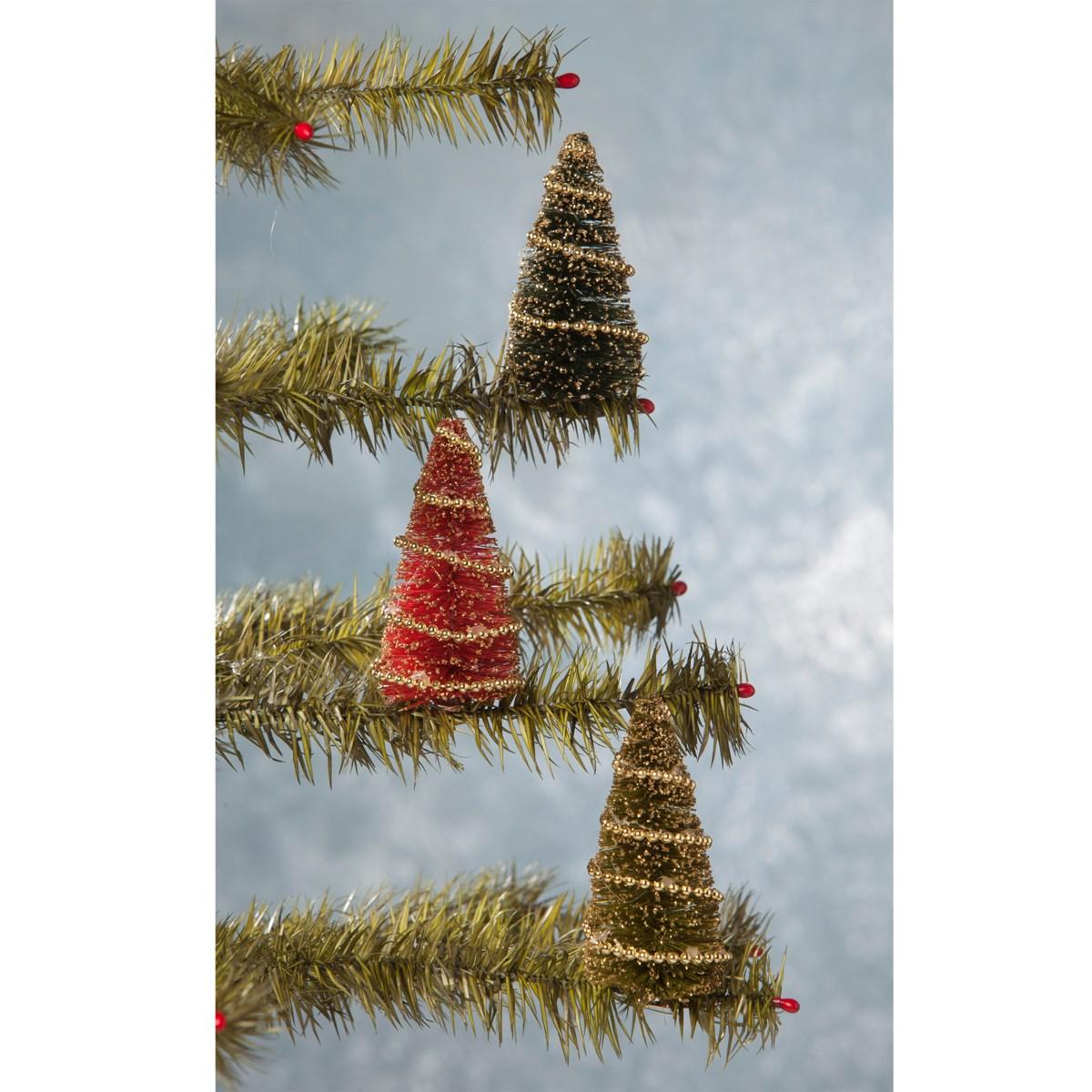 Bottle Brush Tree Clip Ornament S3