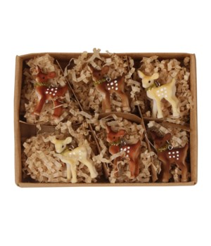 Mini Fawn Ornament S6